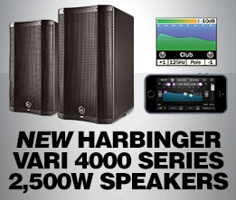 New Harbinger Varo 4000 Series 2,500W Speakers