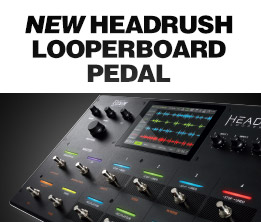 New Headrush Looperboard Pedal