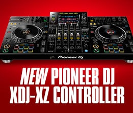 New Pioneer DJ XDJ-XZ integrating rekordbox dj and serato DJ Pro in a professional standalone controller