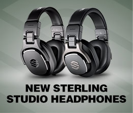 New Sterling Studio Headphones