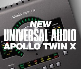 New Universal Audio Apollo Twin X