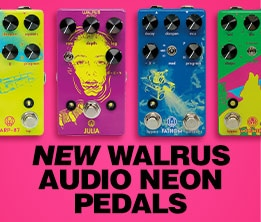 New Walrus Audio Neon Pedals