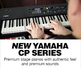 New Yamaha CP Series Premiom stage pianos with authentic feel and premium sound