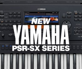 New Yamaha PSR-SX Series