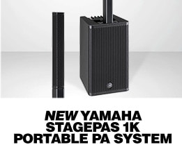 New Yamaha Stagepas 1K Portable PA System