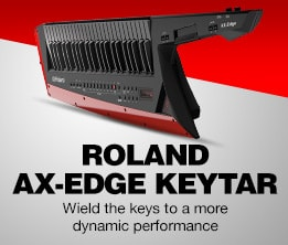 Roland Ax-Edge Keytar. Weild the Keys to a more dynamic performance