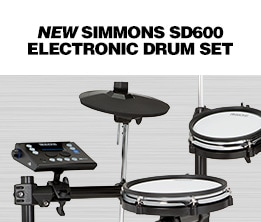 New Simmons SD600 Electronic Drum Set