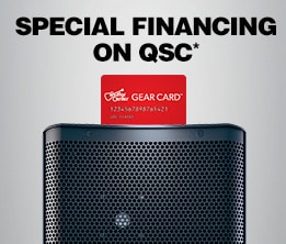 Special Financing on QSC