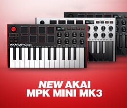 New Akai MPK Mini MK3