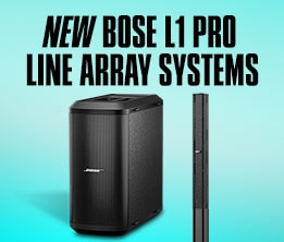 New Bose L1 Pro Line Array Systems
