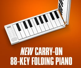 New Carry-On 88-Key Folding Piano