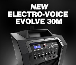 New Electro-Voice Evolve 30M
