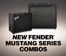New Fender Mustang Combos