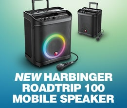 New Harbinger Roadtrip 100 Mobile Speaker