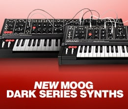 New Moog Dark Series Synths