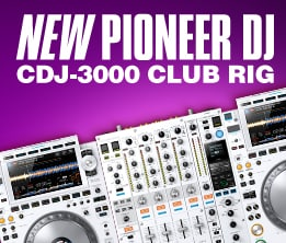 New Pioneer DJ CDJ-3000 Club Rig
