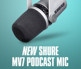 New Shure MV7 Podcast Mic