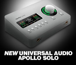New Universal Audio Apollo Solo