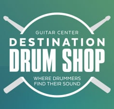 Guitar Center Destination Drum Shop Where Drummers Find Their Sound