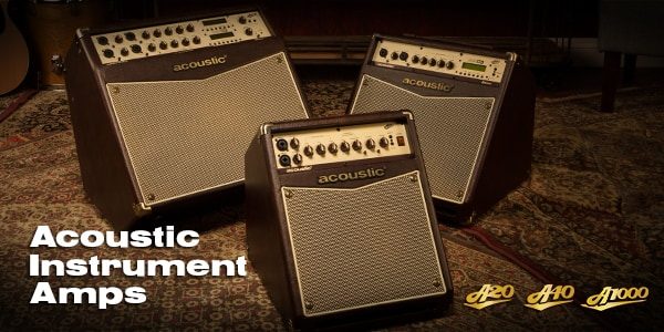 Acoustical Instrumental Amps