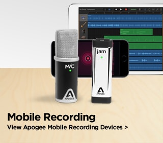 Apogee Mobile Recording Devices