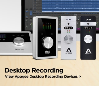 Apogee Desktop Recording Devices