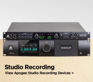 Apogee Studio Recording Devices