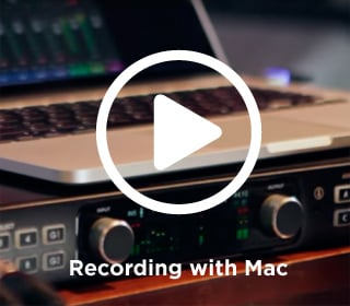 Apogee Video Recording with Apple Mac