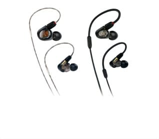 Audio-Technica In-ear Monitor Headphones