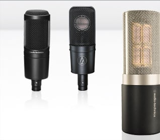 Audio-Technica Recording Microphones