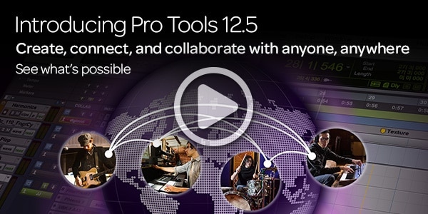 Introducing Pro Tools Twelve Point Five