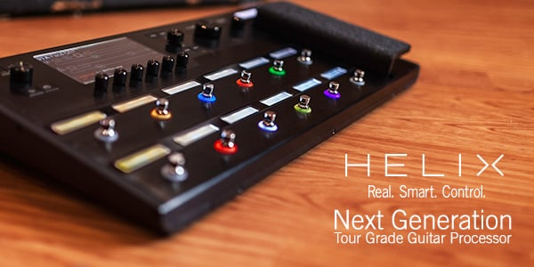 Helix next generation tour grade guitar processor real smart control