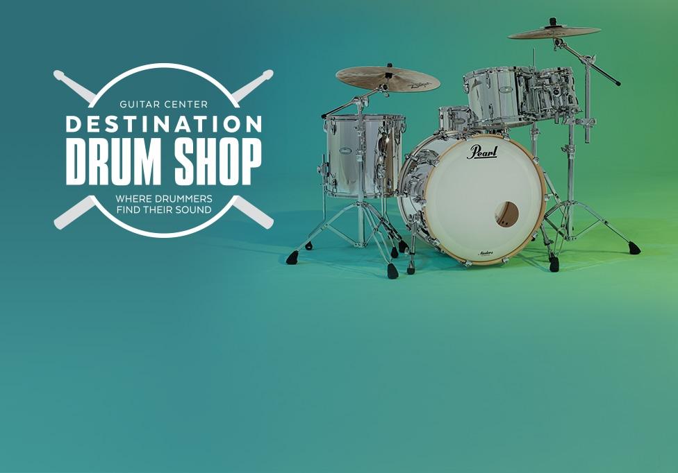 destination drum shop. Black Bedroom Furniture Sets. Home Design Ideas