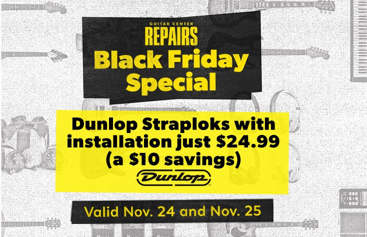 Repairs Black Friday Special, dunlop straploks with installation just $24.99
