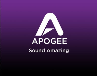 Apogee Logo Sound Amazing