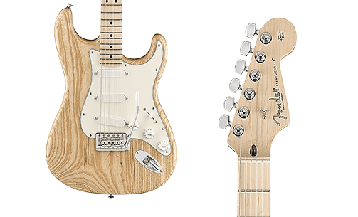 Limited Edition Fender RAW Special Ash Stratocaster