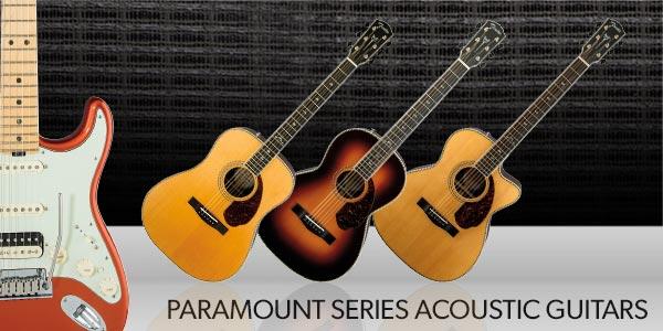 Fender Paramount Series Electric Guitars