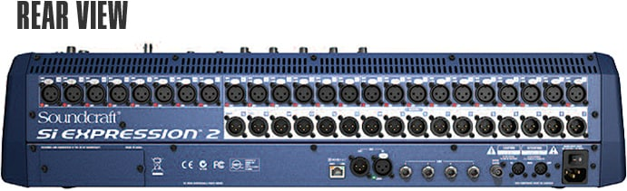 Soundcraft Mixer Rear