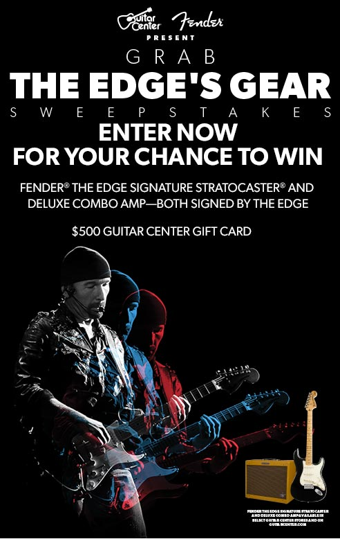 Guitar Center Gift Card Trick Live In Los Angeles Sweepstakes