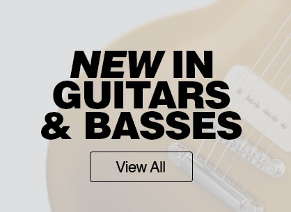 New in guitars and basses