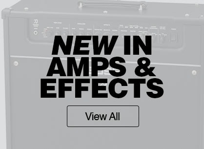 New in amps and effects