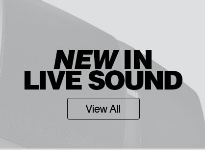new in live sound