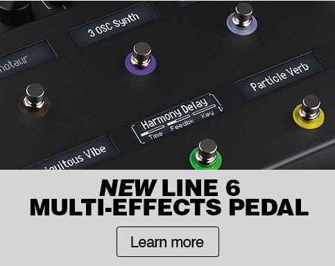 New line 6 multi-effects pedal