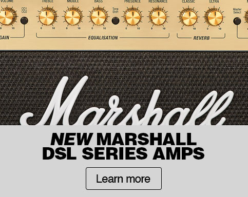 New marshall dsl series amps