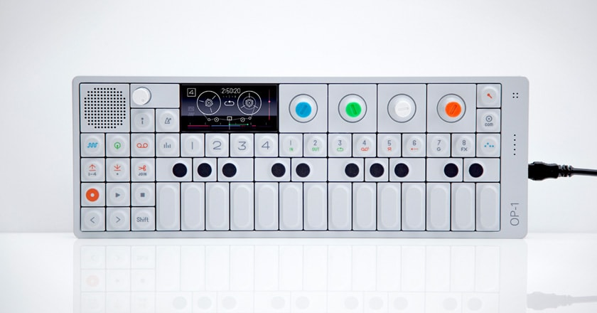 OP-1 synth with 4-track recording