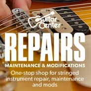 Guitar Center Repairs.  Maintenance and modifiation.  One-stop shop for stringed instrument repair, maintenance and modifications.