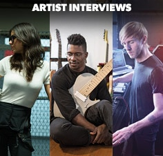 Catch our latest interviews with drummer Stella Mozgawa, electronic musician Richie Hawtin and guitarist Tosin Abasi.