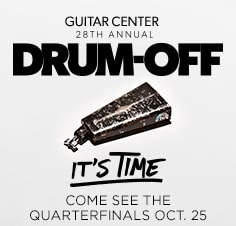 Come watch the in-store Quarterfinals for our 28th Annual Drum-Off—Oct. 25 at 7 p.m.