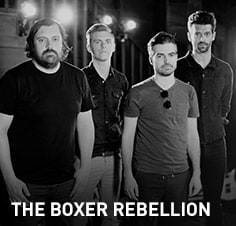 Join The Boxer Rebellion for some intriguing discussion and a live performance featuring music from their latest release, Ocean by Ocean.