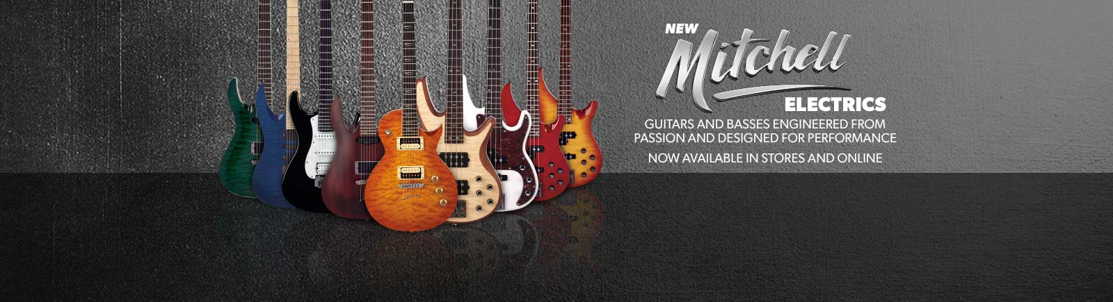 Mitchell Electric Guitars
